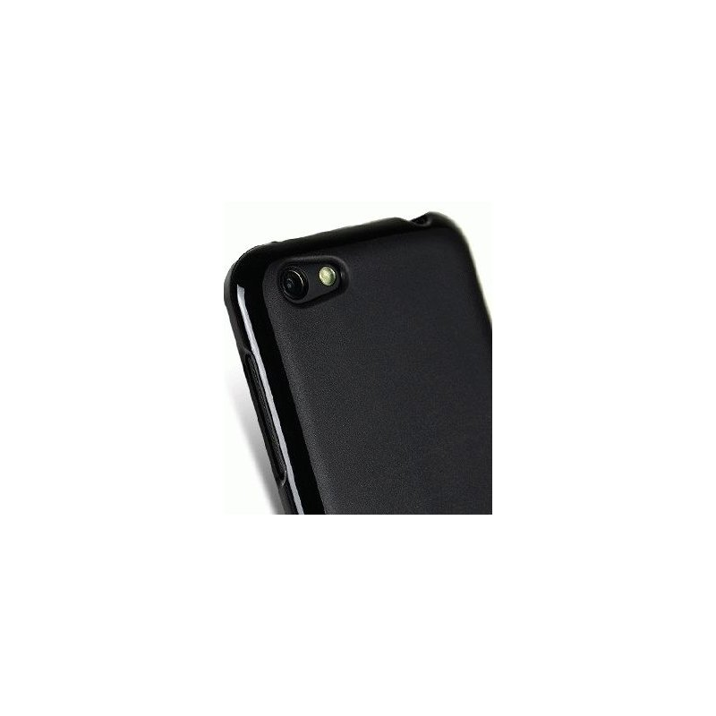 Полиуретановая накладка Melkco Poly Jacket для HTC One V T320e Black