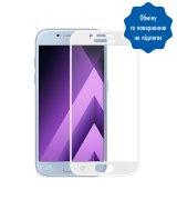 Защитное стекло 3D для Samsung Galaxy A3 (A320) White