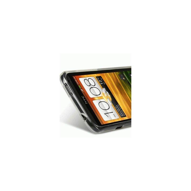 TPU накладка Melkco Poly Jacket для HTC One X S720e White