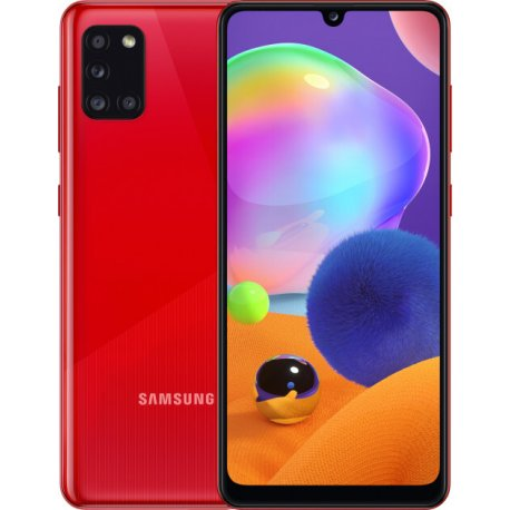 Samsung Galaxy A31 4/128Gb Red (SM-A315FZRVSEK)