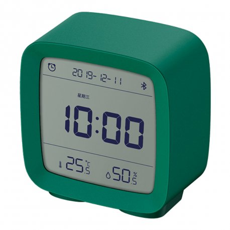 Часы будильник Xiaomi Qingping Bluetooth Alarm Clock Green (CGD1)