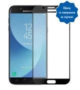 Защитное стекло 3D для Samsung Galaxy J7 2017 (J730) Black