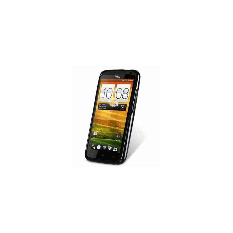 TPU накладка Melkco Poly Jacket для HTC One X S720e Black