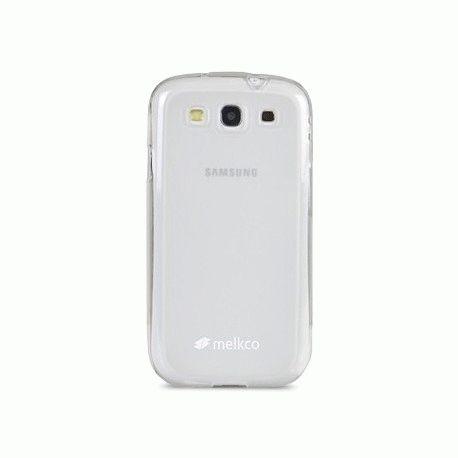 TPU накладка Melkco Poly Jacket для Samsung Galaxy SIII i9300 White