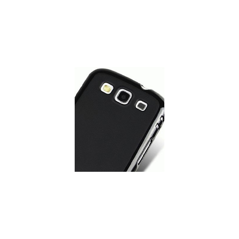TPU накладка Melkco Poly Jacket для Samsung Galaxy SIII i9300 Black
