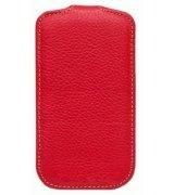 Кожаный чехол Melkco (JT) для HTC Desire V T328w Red