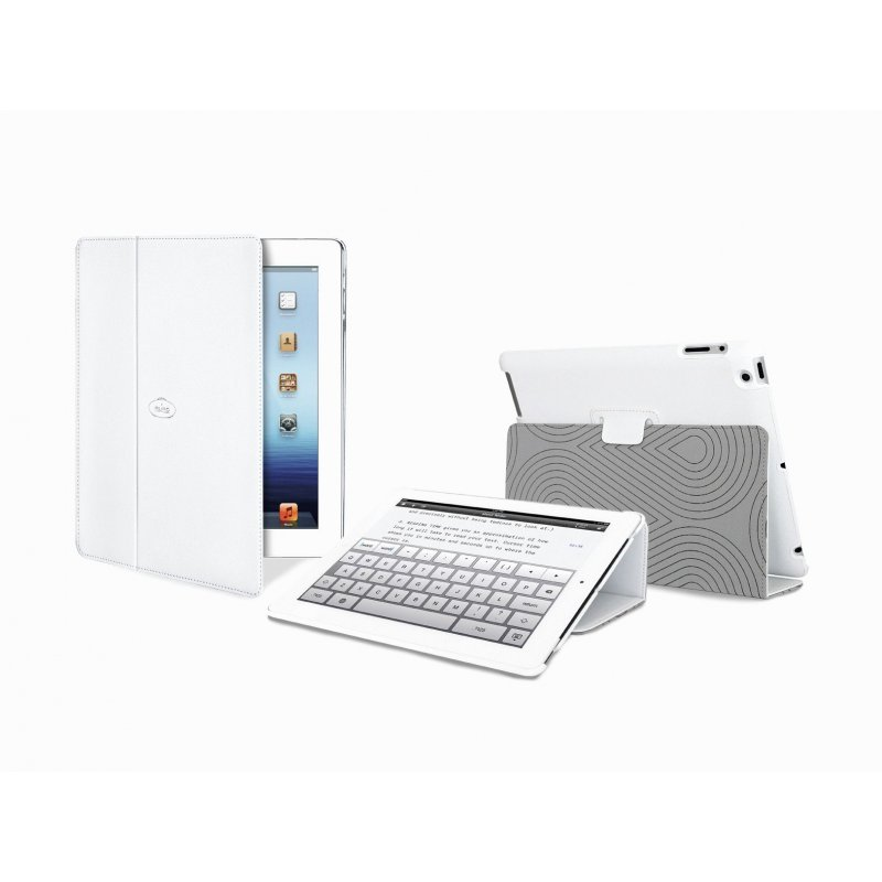 Чехол Puro iPad 2/3 Booklet Cover White
