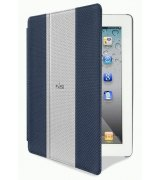 Чехол Puro iPad 2/3 Golf Booklet Cover Dark Blue