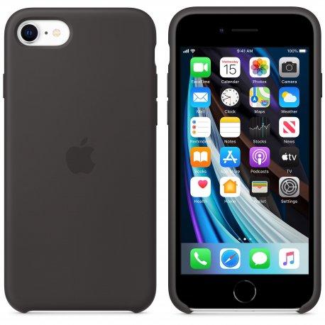 Чехол Apple iPhone SE (2020) Silicone Case Black (MXYH2)