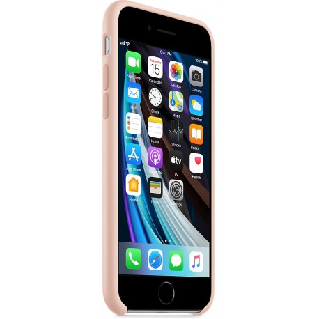 Чехол Apple iPhone SE (2020) Silicone Case Pink Sand (MXYK2)