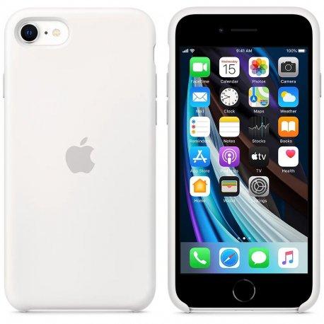Чехол Apple iPhone SE (2020) Silicone Case White (MXYJ2)