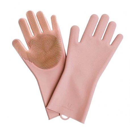Перчатки силиконовые Xiaomi Jordan-Judy Silicone Gloves Pink