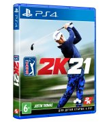 Игра PGA Tour 2K21 (PS4, Английская версия)