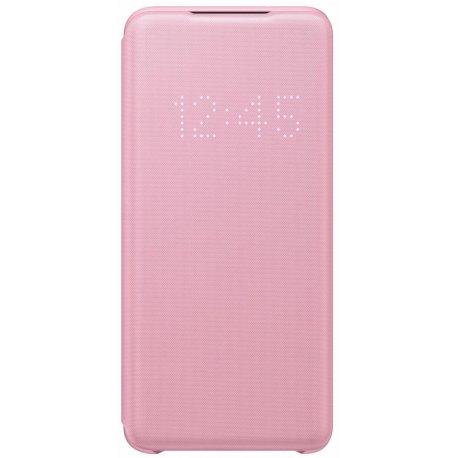 Чехол Samsung LED View Cover для Samsung Galaxy S20 (G980) Pink (EF-NG980PPEGRU)