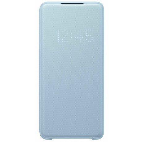 Чехол Samsung LED View Cover для Samsung Galaxy S20+ (G985) Sky Blue (EF-NG985PLEGRU)