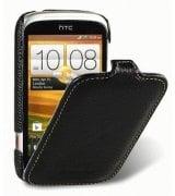Кожаный чехол Melkco (JT) для HTC Desire C A320e Black