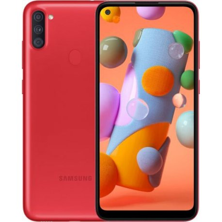 Samsung Galaxy A11 2/32GB Red (SM-A115FZRNSEK)
