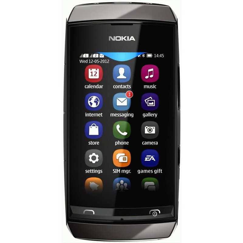 Nokia Asha 306 Dark Grey