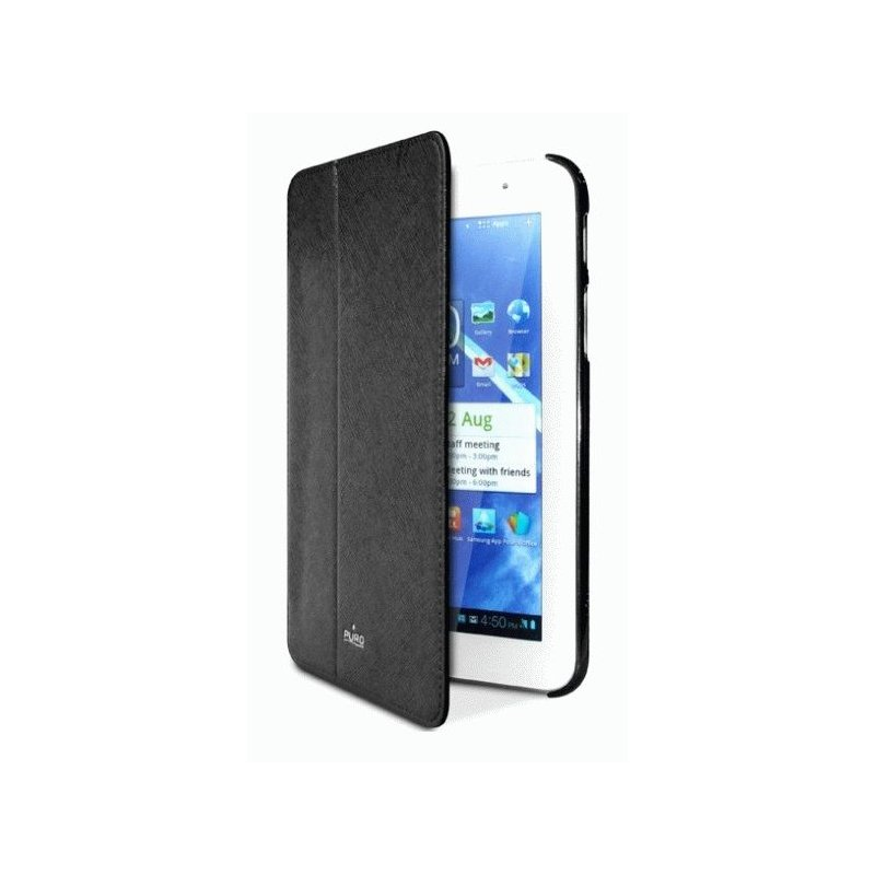 Чехол Puro для Samsung Galaxy Tab 7.0 P3100/P3110/P6200 Booklet Cover Black