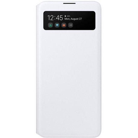 Чехол Samsung S View Wallet Cover для Samung Galaxy A71 (A715F) White (EF-EA715PWEGRU)