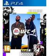 Игра UFC 4 (PS4, Русские субтитры)