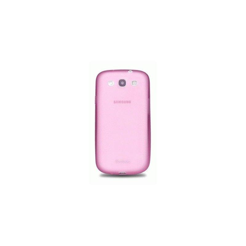 Yoobao накладка TPU Skin Cover для Samsung i9300 Galaxy S 3 Pink