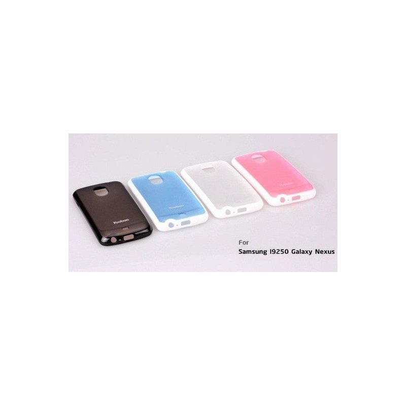 Yoobao накладка TPU Skin Cover для Samsung i9250 Galaxy Nexus Black