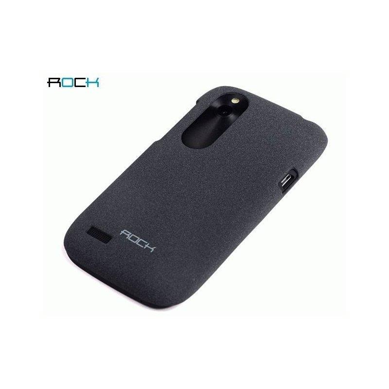 Пластиковая накладка ROCK Quicksand series для HTC Desire V T328w Dark Grey