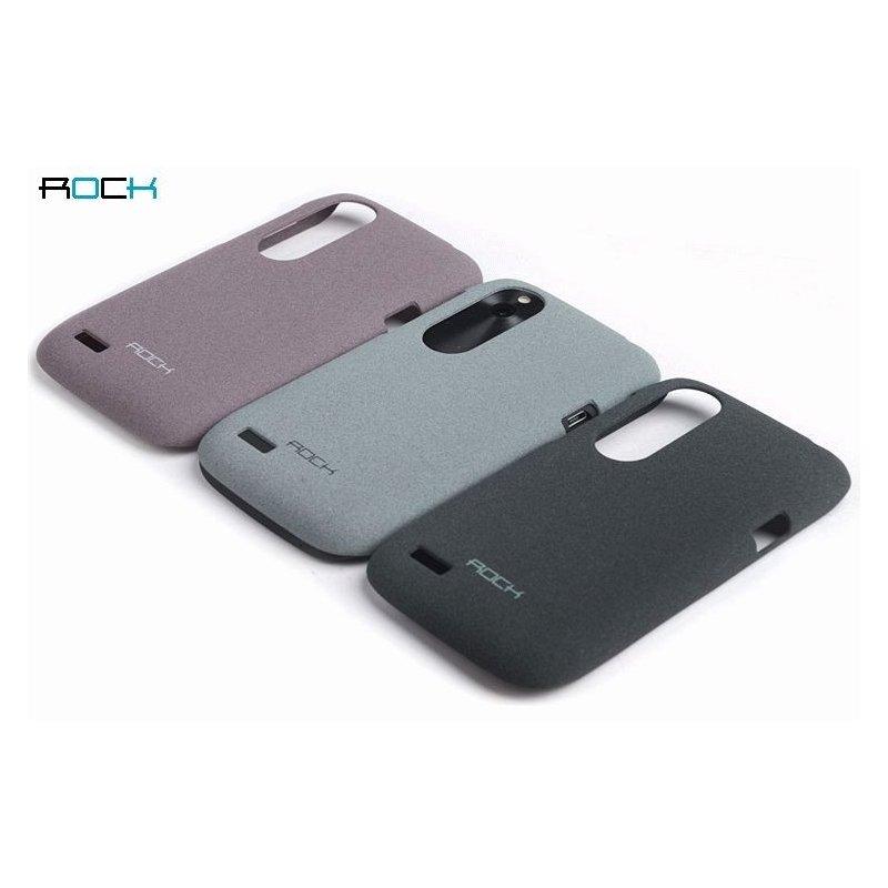 Пластиковая накладка ROCK Quicksand series для HTC Desire V T328w Purple