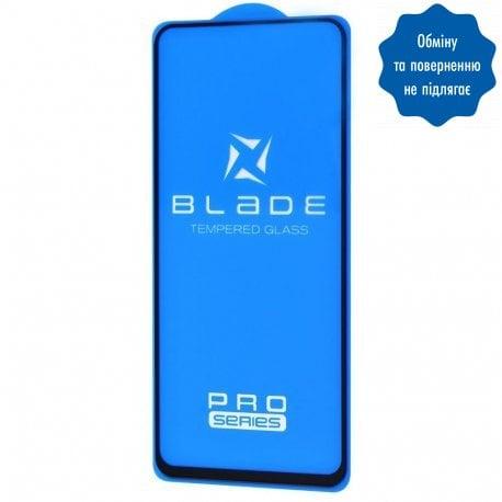 Защитное стекло Blade Pro Full Glue для Samsung Galaxy A11/M11 (A115/M115) Black