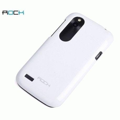Пластиковая накладка ROCK Naked Color-full series для HTC Desire V T328w White