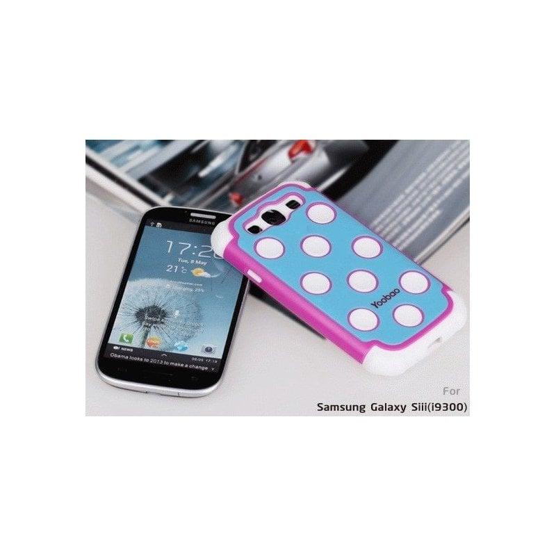 Yoobao накладка Silicon Case для Samsung i9300 Galaxy S 3 Rose