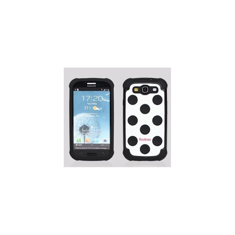 Yoobao накладка Silicon Case для Samsung i9300 Galaxy S 3 Black