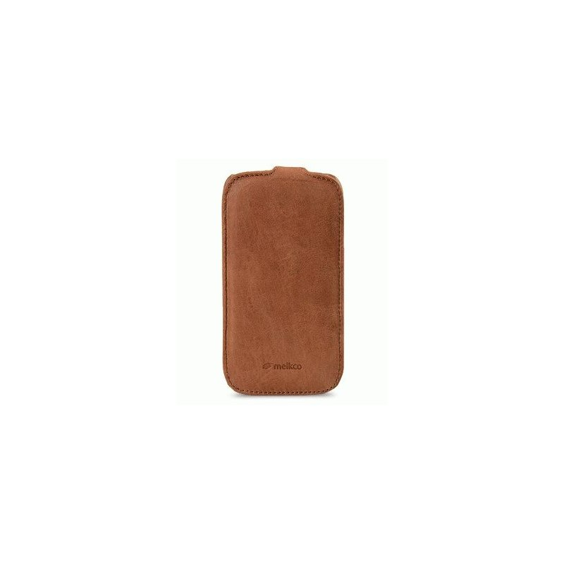 Кожаный чехол Melkco (JT) для Samsung i9300 Galaxy S3 Brown