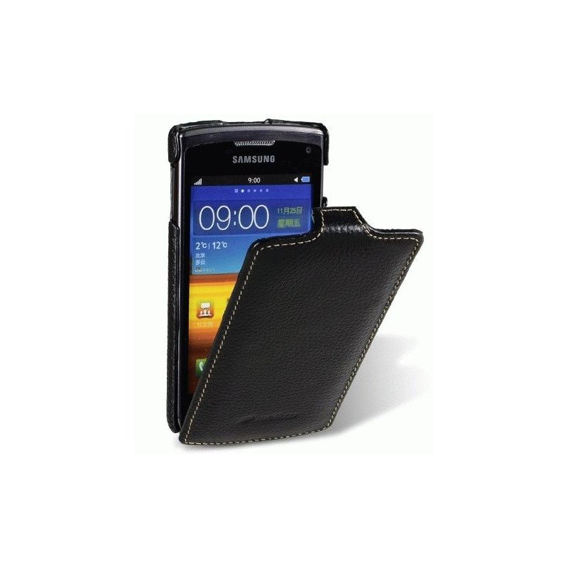 Кожаный чехол Melkco (JT) для Samsung S8600 Wave 3 Black