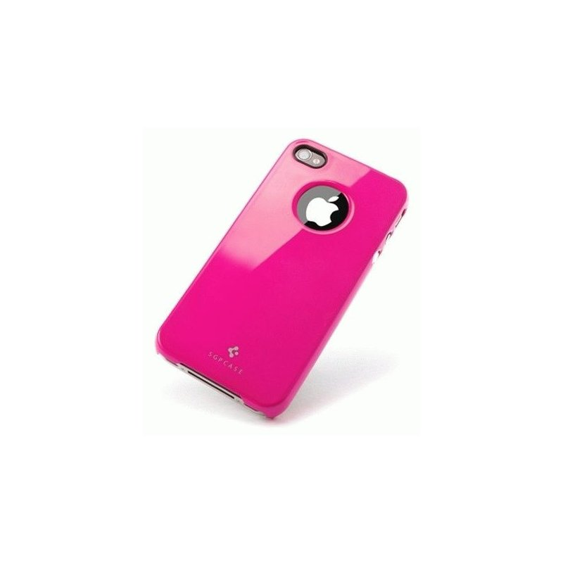SGP iPhone 4/4s Case Ultra Thin Air Pastel Series Hot Pink