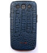 Parmp Crocodile Light Case для Samsung Galaxy SIII i9300 Blue