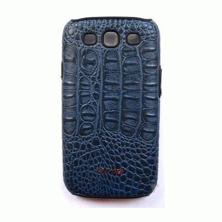 Parmp Crocodile Light Case для Samsung Galaxy SIII i9300 Blue
