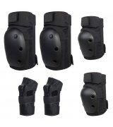Комплект защитный Simple 3 in 1 (Размер S) Black