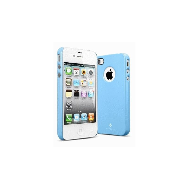 SGP iPhone 4/4s Case Ultra Thin Air Pastel Series Tender Blue