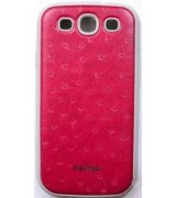 Parmp Ostrich Light Case для Samsung Galaxy SIII i9300 Red