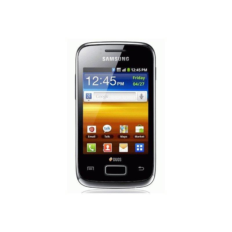 Samsung S6102 Galaxy Y Duos Absolute Black