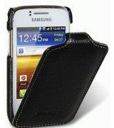 Кожаный чехол Melkco (JT) для Samsung S6102 Galaxy Y Duos Black