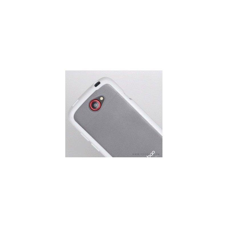 Yoobao накладка TPU Skin Cover для HTC ONE S Z320e White