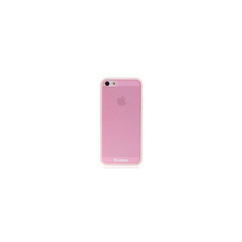 Yoobao накладка TPU Skin Cover для iPhone 5 Pink
