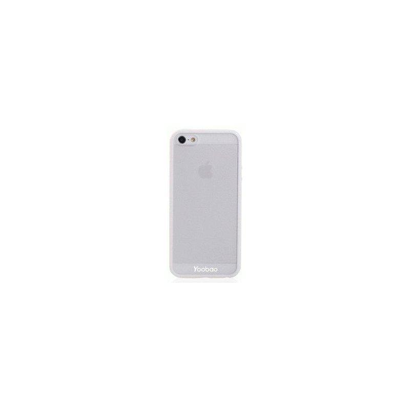 Yoobao накладка TPU Skin Cover для iPhone 5 White