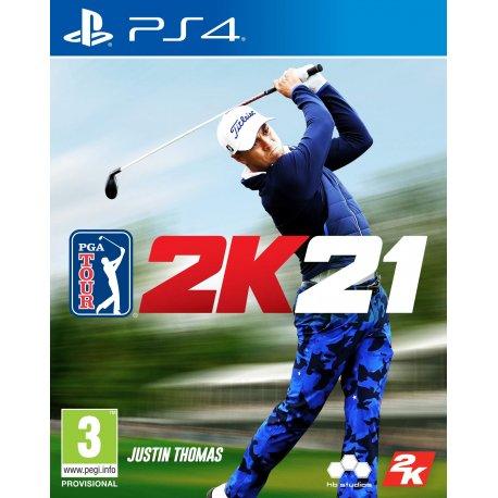 Игра PGA Tour 2K21 (PS4, Русские субтитры)
