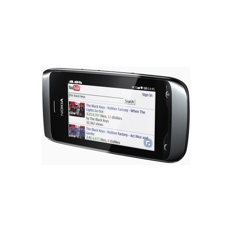 Nokia Asha 308 Black