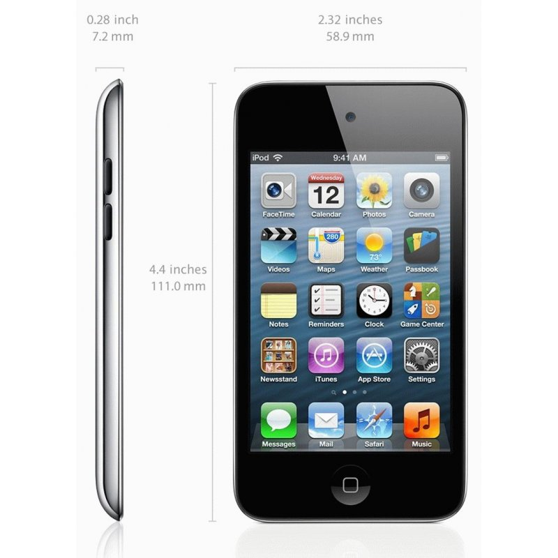 Apple iPod touch 4Gen 16GB Black (ME178)