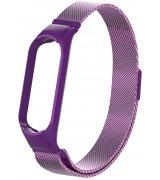 Ремешок Xiaomi Mi Band 5 Milanese Loop Purple